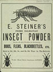flea powder ad
