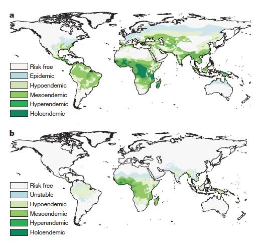 1900-2007 malaria rates