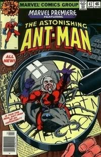 ant man comic book